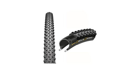 Continental CycloXKing - Pneu - 35 622, Performance, pliable noir